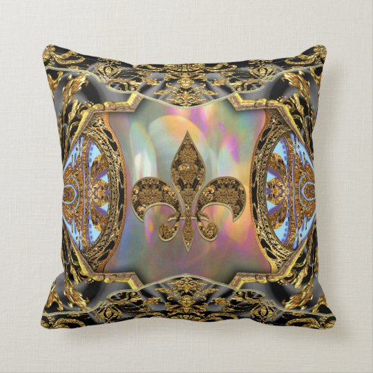 Baarnetscue Clairoux Victorian  Throw Pillow
