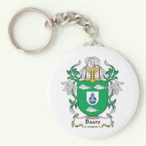 Baars Family Crest Keychain
