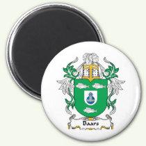 Baars Family Crest Magnet