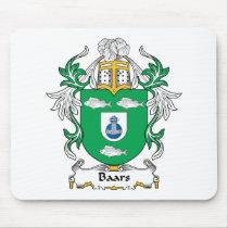 Baars Family Crest Mousepad