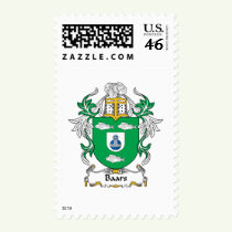 Baars Family Crest Stamps