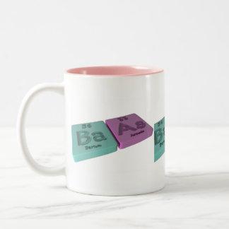 Baas as Ba Barium and As Arsenic Coffee Mugs