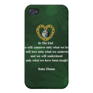 Baba Dioum Quote iPhone 4 Case