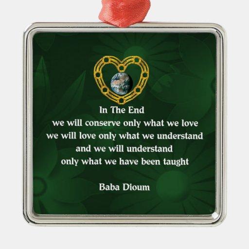 Baba Dioum Quote Ornament