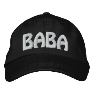 BABA EMBROIDERED BASEBALL CAP
