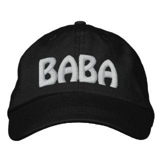 BABA EMBROIDERED BASEBALL CAP