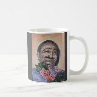 Baba in peach mug