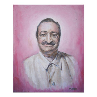 Baba in Pink Poster