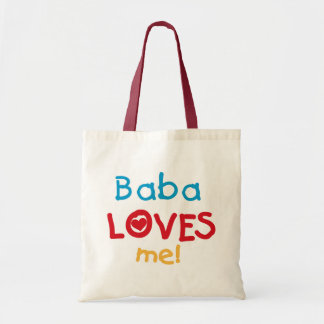 Baba Loves Me T-shirts and Gifts Tote Bag
