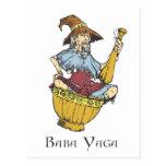 Baba Yaga Post Cards