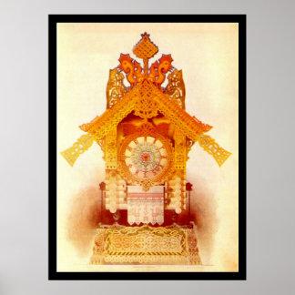 Baba Yaga's Hut - Poster