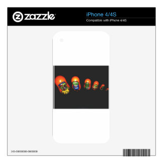 Baba zombie iPhone 4S skins
