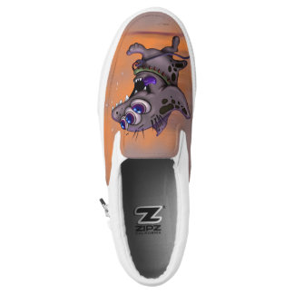 BABABA DOGGY ALIEN MONSTER Slip On Shoes 2