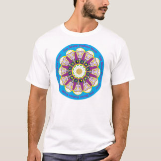 Babaji T Shirt with Om Mane Padme Hum Mantra