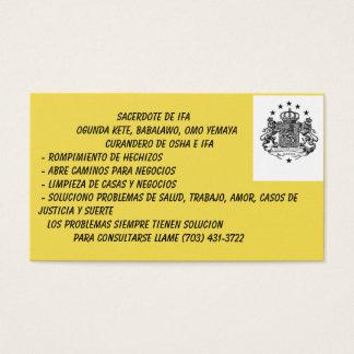 Babalawo Business Cards