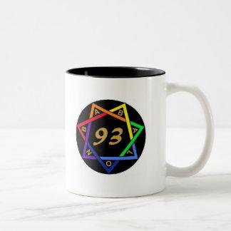 Babalon, 93 Two-Tone mug