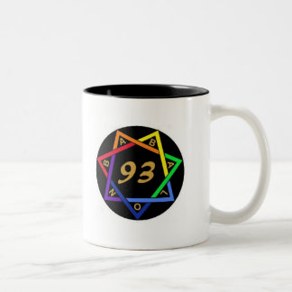 Babalon, 93 Two-Tone coffee mug