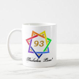 Babalon Lives! Basic White Mug