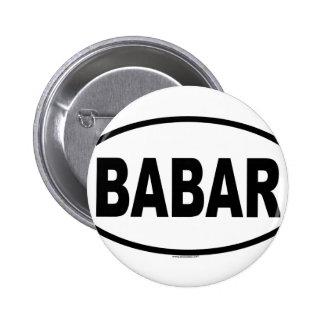 BABAR 2 INCH ROUND BUTTON