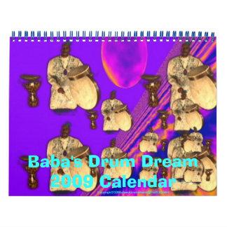 Baba's Dream Drum 2009 Calendar