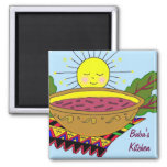 Baba's Kitchen Magnet