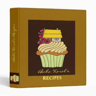 Baba's Recipes 3 Ring Binder