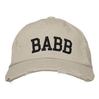 Babb Embroidered Hat Embroidered Hat