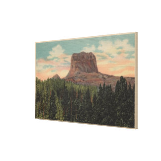 Babb, MT - View of Big Chief Mountain from Hwy Canvas Print