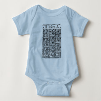 Babbage Difference Engine Baby Bodysuit