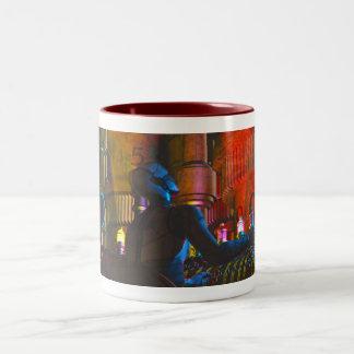 Babbage Player, by Joseph Maas Two-Tone Coffee Mug