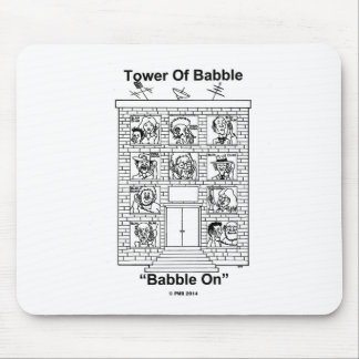 Babble On Mouse Pad