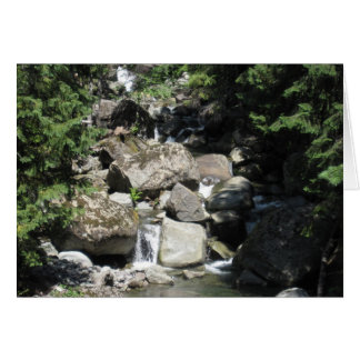Babbling Brook Greeting Card w/Marcel Proust Quote