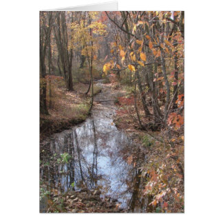 Babbling Brook Stationery Note Card