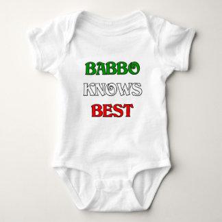 Babbo Knows Best Baby Bodysuit