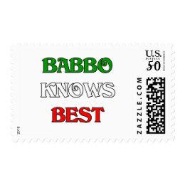 Babbo Knows Best Postage