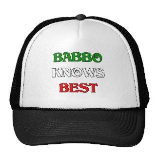 Babbo sabe mejor gorros bordados