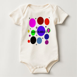 Babby Bubbles Kinder Multi bubble) Baby Bodysuit