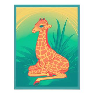 Babby Giraffe Card