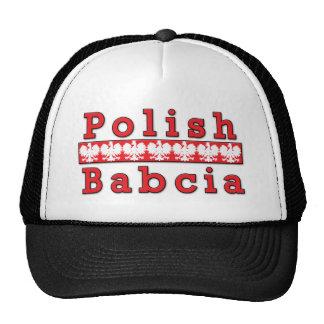 Babcia polaco Eagles Gorras De Camionero