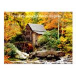 Babcock State Park Grist Mill Postcards