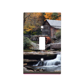Babcock State Park GristMill Light Switch Cover