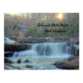 Babcock State Park Post Card