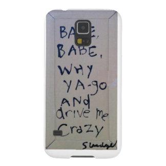 babe babe... sludge lyrics by SLUDGEart Galaxy S5 Case