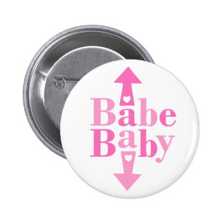 Babe Baby Pinback Button