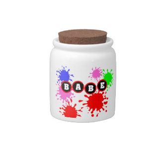 Babe Candy Jars