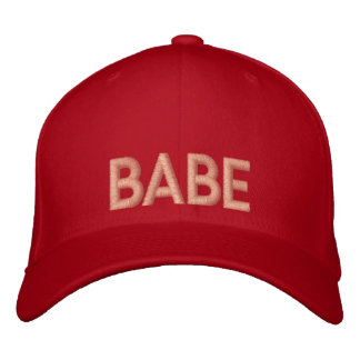 Babe Embroidery Cap Hat