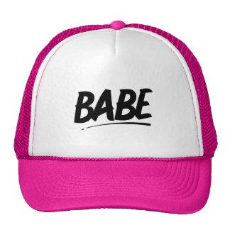 BABE FLIRTING SHOUTOUT WOMAN GIRL GOOD-LOOKING CHE TRUCKER HAT