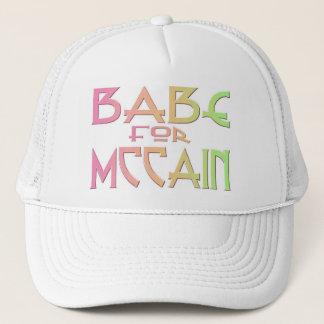 Babe For McCain Cute Hat Cap