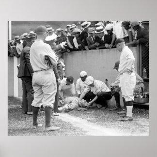 Babe Gets Bonked, 1924 Poster