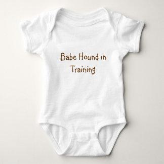 Babe Hound in Training Baby Bodysuit